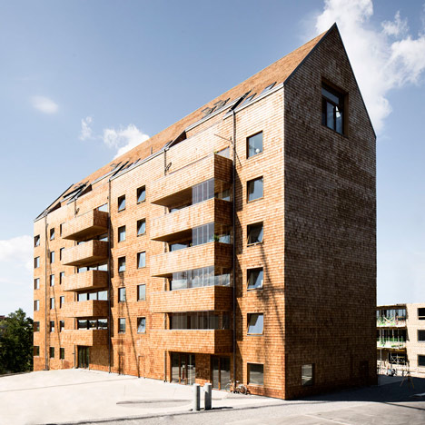 Wing Rdhs Completes Prefabricated Apartment Block Constructed Totally From Wood By Top Creative