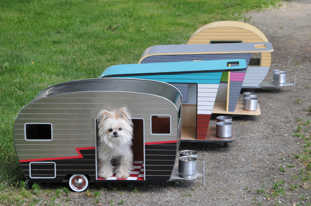 Cool Dog House Upgrade Quickly Endearing Pet Trailer
