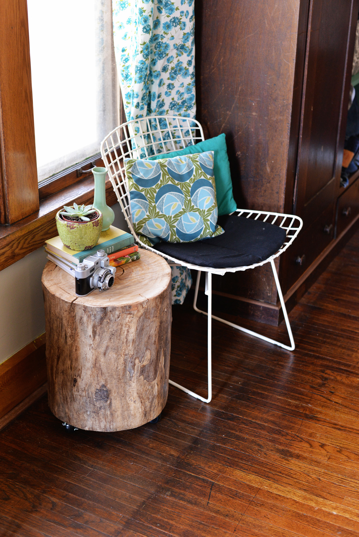 Diy Tree Stump Side Table By 2014 Interior Ideas Fan Kous
